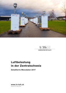 Titelbild Luftbelastung in der Zentralschweiz: Detaillierte Messdaten 2017