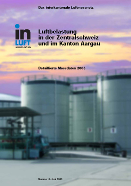 Titelbild Detaillierte Messdaten Ausgabe 2005