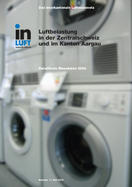 Titelbild Detaillierte Messdaten Ausgabe 2008