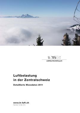 Titelbild Detaillierte Messdaten Ausgabe 2011