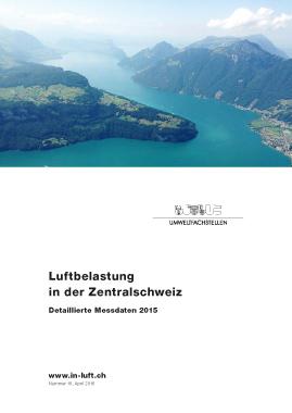 Titelbild Detaillierte Messdaten Ausgabe 2015