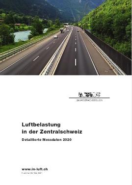 Titelbild Detaillierte Messdaten Ausgabe 2020