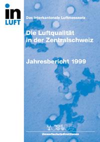 Titelbild Jahresbericht Ausgabe 1999