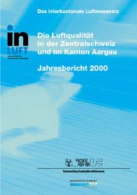 Titelbild Jahresbericht Ausgabe 2000