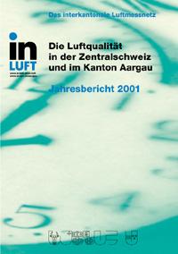 Titelbild Jahresbericht Ausgabe 2001