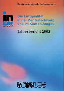 Titelbild Jahresbericht Ausgabe 2002