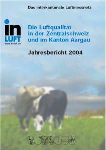 Titelbild Jahresbericht Ausgabe 2004