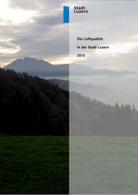Titelbild Luftqualität in der Stadt Luzern 2015