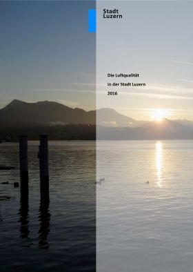 Titelbild Luftqualität in der Stadt Luzern 2016