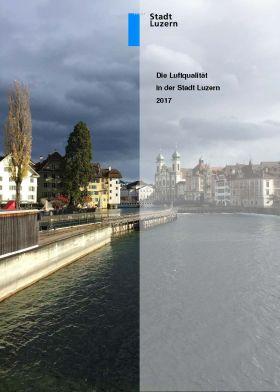 Titelbild Luftqualität in der Stadt Luzern 2017