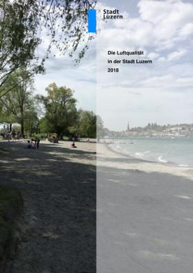 Titelbild Luftqualität in der Stadt Luzern 2018