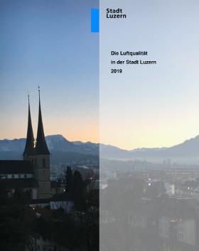 Titelbild Luftqualität in der Stadt Luzern 2019