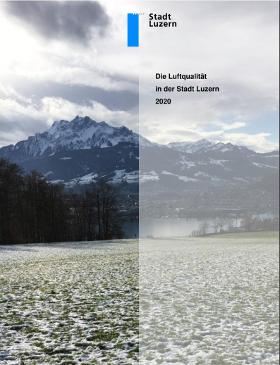 Titelbild Luftqualität in der Stadt Luzern 2020