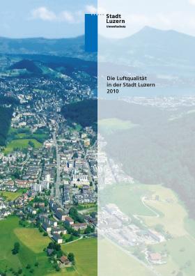 Titelbild Luftqualität in der Stadt Luzern 2010