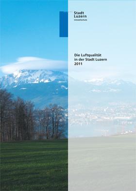Titelbild Luftqualität in der Stadt Luzern 2011