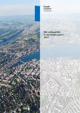 Titelbild Luftqualität in der Stadt Luzern 2012