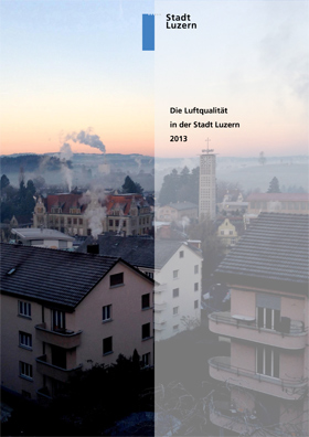 Titelbild Luftqualität in der Stadt Luzern 2013