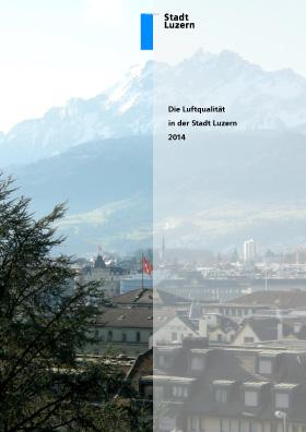 Titelbild Luftqualität in der Stadt Luzern 2014