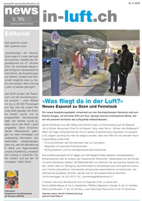 Titelbild news von umwelt-zentralschweiz.ch (Nr. 2/2013)