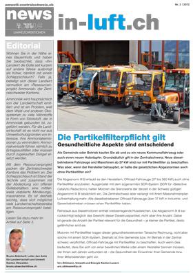 Titelbild news von umwelt-zentralschweiz.ch (Nr. 3/2012)