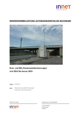 Titelbild Russmessungen Autobahnanschluss Buchrain